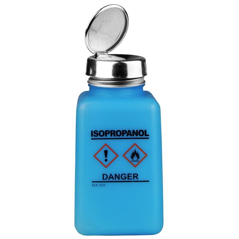 Menda 35735 Durastatic 174 Blue Hdpe Bottle W One Touch
