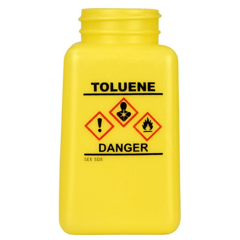 Menda 35762 Durastatic 174 Yellow Hdpe Bottle W Toluene